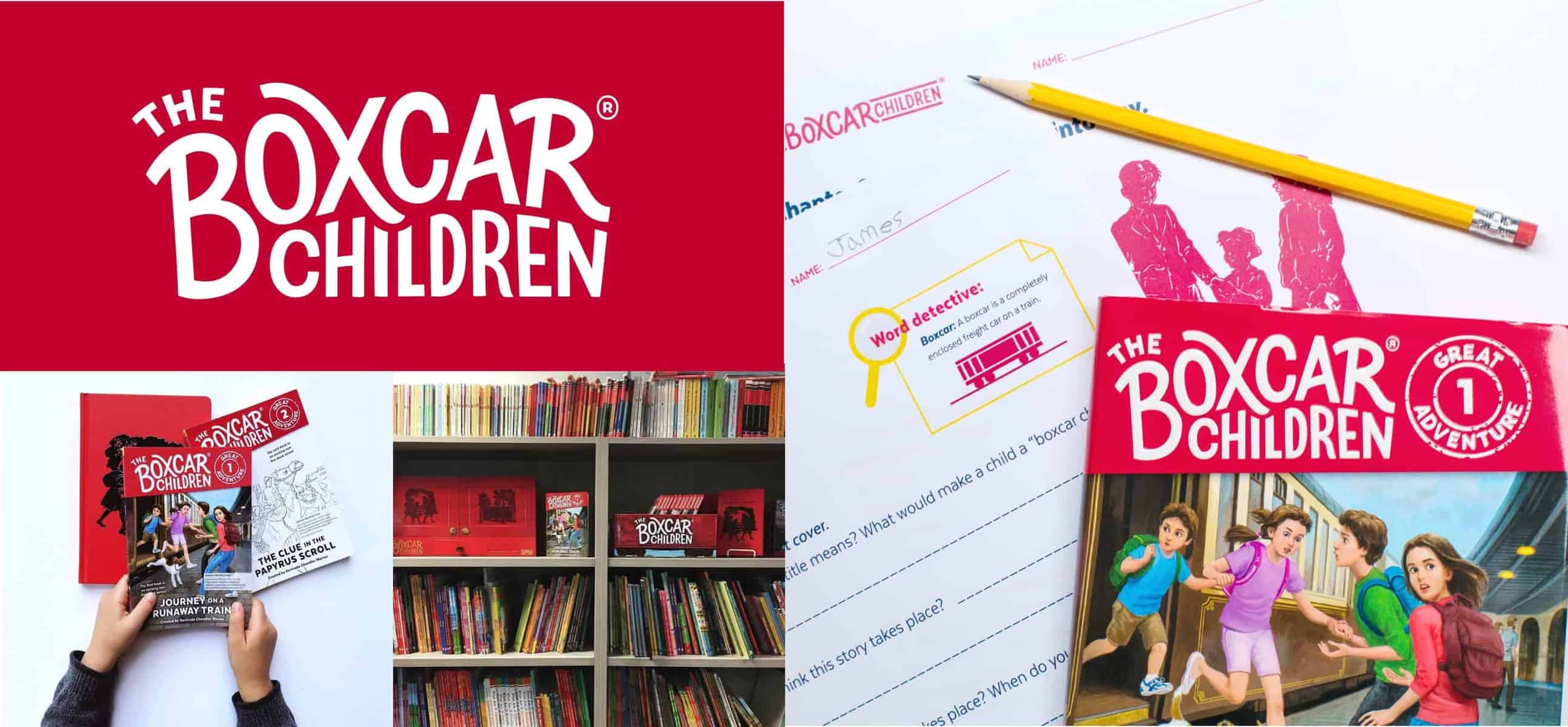 Boxcar children work books