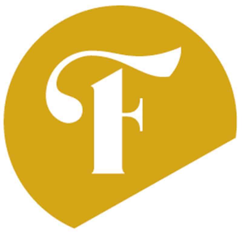a logo for faith church