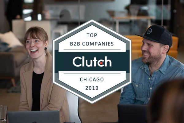 Cultivate has been recognized by Clutch on their list of 2019 Best B2B Service Providers in Chicago